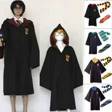 Harry Potter Gryffindor Cape Cloak Tie Scarf Carnival Party Cosplay Costume AU