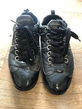 Dolce and Gabbana Mens Black Trainers Size 8 UK