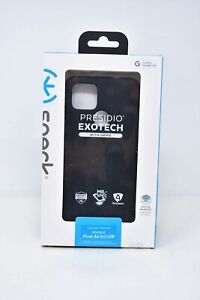 Speck Presidio Exotech Case with Grips for Google Pixel 4a (5G) - Black - NEW !!