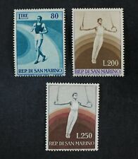 CKStamps: Italy Stamps Collection San Marino Scott#353-355 Mint LH OG