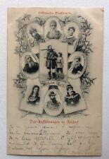 CPA. WILHELM TELL. Guillaume Tell. ALTDORF. Suisse. 1901. Famille? Parenté?