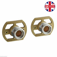 Exposed Thermostatic Shower Bar Valve Easy Fit Shower Fixing Kit Pair