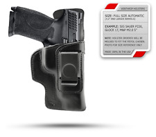Ruger American 9mm Compact IWB Shield Single Clip Holster R/H Black