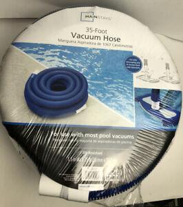 35 FOOT Vacuum Hose Pool Spa 1.5 In Diameter x 35 Ft Long UV-Resistant BRAND NEW