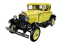 1931 FORD MODEL A COUPE BRONSON YELLOW 1/18 DIECAST MODEL CAR BY SUNSTAR 6135
