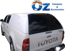 TOYOTA HILUX Dual Cab CANOPY 2005 - 2015 A DECK Fleet Canopy in White