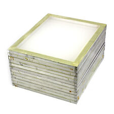 12 Pack Aluminum Silk Screen Printing Press Screens 110 White Mesh 20