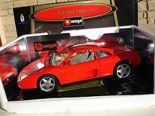 FERRARI 348 TB 1989 BURAGO 1/18