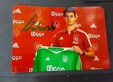 Signiertes Foto Dominik Kotarski Kroatien Ajax Amsterdam  NEU