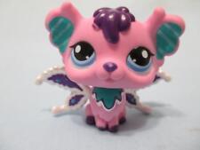 Littlest Pet Shop LPS #2708 Pink Fairy Purple White Wings 100% Authentic