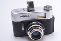 ✅ VOIGTLANDER VITORET F 35MM *1963-65* CAMERA W/ 50MM COLOR LANTHAR 2.8 LENS