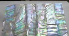 Dark Mother of Pearl Shell INLAY Real Shell Thin Sheet Veneer Overlay