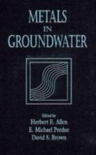 Metals in Groundwater