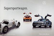 Mercedes Classic Prospekt Supersportwagen 3/10 2010 SLS AMG C111 CLK DTM AMG