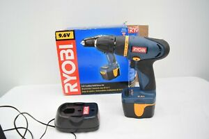 RYOBI Cordless Drill-Driver Model HP696 - 9.6 Volt Including Battery, Charger