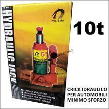 CRICK CRIC IDRAULICO 10 TONNELLATE BOTTIGLIA MARTINETTO UNIVERSALE JEEP