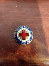 Tiffany & Co. Bronze American Red Cross Volunteer Lapel Pin VINTAGE WWII era
