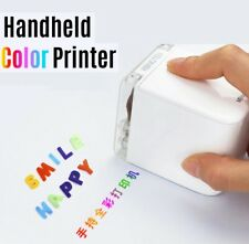 Handheld Printer Portable Mini Inkjet Printer Color Barcode Printer 1200dpi
