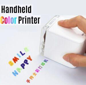 Handheld Printer Portable Mini Inkjet Printer Color Barcode Printer 1200dpi