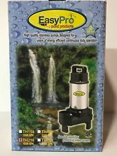EasyPro TH250 4100 GPH Submersible Stainless Steel Pond Pump