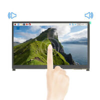 "10.1"" IPS LCD Display Touch Screen Monitor w/ Speaker Bracket for Raspberry Pi"