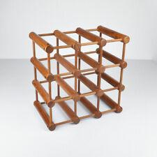 Teak Weinregal - Flaschenregal - Vintage - Midcentury Modern - Danish Design
