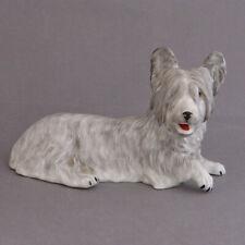 More details for skye terrier model ornament dresden made in germany