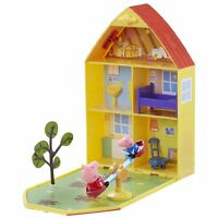 Peppa Pig Home Case game House and Garden Includes Figure Peppa Pig and George