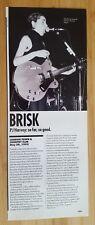 Original  pj harvey magazine print and article Approx 12x30cm