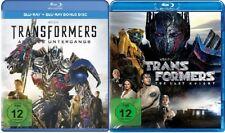 4 Blu-rays * TRANSFORMERS 4 + 5 IM SET - Mark Wahberg # NEU OVP +