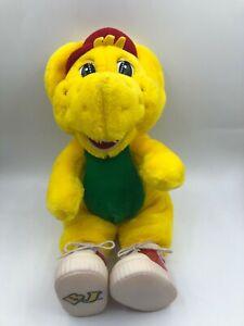Barney And Friends BJ The Yellow Dinosaur 1997 Lyons Plush Stuffed Toy Animal