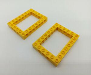 LEGO Technic 2x Lochbalken 6x8 gelb 40345 aus 8275, 7900