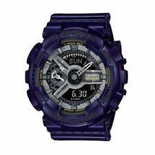Casio G-Shock GMAS110MC-2A Blue Analog/Digital Chrono 200 Meters WR Watch