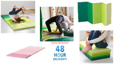 Ikea New Folding gym mat PLUFSIG Green or Pink 2 colour of choice 75x185