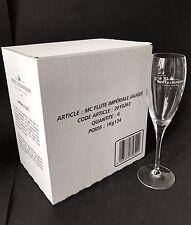 6x Moët Chandon Impérial Champagner Glas Gläser Champagne Flute Moet NEU OVP