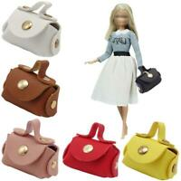 1Pc 1:12 Dollhouse Miniature Leather Fashion Bag Doll House Accessories Creative