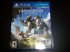 Replacement Case (NO GAME) Horizon Zero Dawn PlayStation 4 PS4 100% Original Box