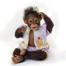Ashton Drake CUTE AS A CUPCAKE Lifelike Baby MONKEY Doll NEW