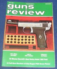 GUNS REVIEW MAGAZINE MAY 1988 - THE RUGER P85 9MMPISTOL