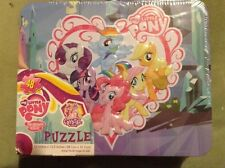My Little Pony FIM Crystal Empire 48 Pc. Puzzle in Tin Box with Handle