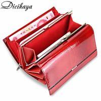 Genuine Leather Women Wallet Multifunction Womens Clutch Wallets Brand Purses
