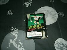 Tennis For Nintendo Entertainment System NES