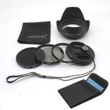 New 72MM Filter Kit UV CPL ND8 Lens Set for Canon Nikon Sony Sigma Sony DSLR