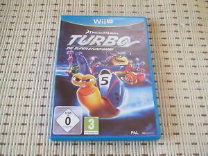Turbo Die Super-Stunt-Gang für Nintendo Wii U *OVP*