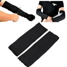 Tactical Steel Wire Cut Proof Arm Guard Bracers Stab Resistant Armband Sleeve US