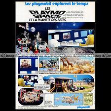 PLAYMOBIL Espace PLAYMO-SPACE 1983 - Pub / Publicité / Advert Ad #A1125