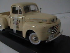 FORD 1948 F-1 PICK UP  1:18 SCALE JIM BEAM    CREAM COLOUR