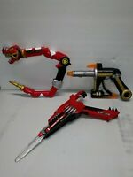 Mighty Morphin Power Rangers Weapons Lot  Bandai Toys Vintage