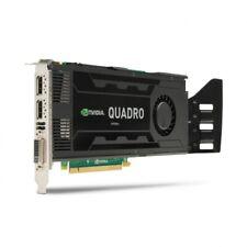 NVIDIA Quadro k4000 3gb GDDR 5 DVI 2x DP DISPLAYPORT PCIE x16 cad rendering