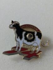 Lions Club Pin 1974 Wisconsin Cow